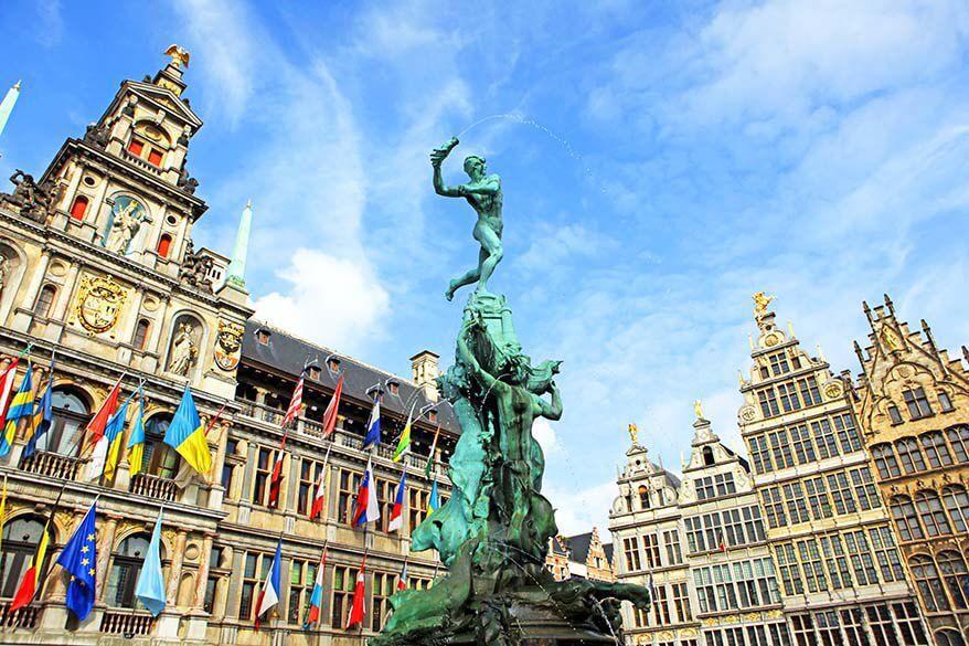 Антверпен — богатейший город Бельгии