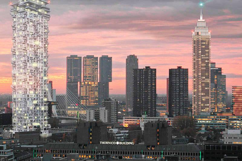 Современные мегаполисы Бенилюкса: Роттердам