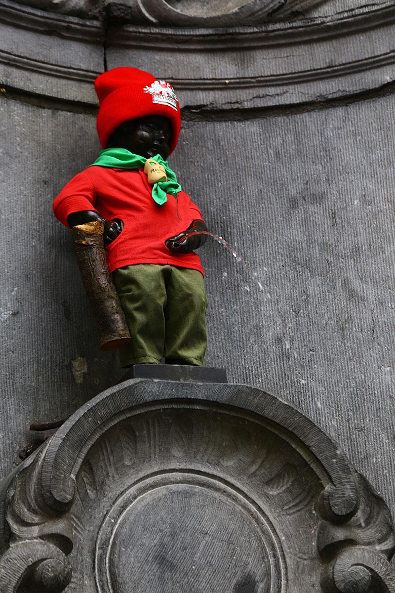Фото Писающего мальчика, Брюссель, Бельгия