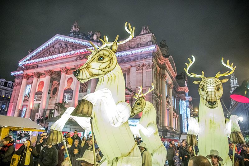 Ярмарки на Рождество в Брюсселе, Бельгия