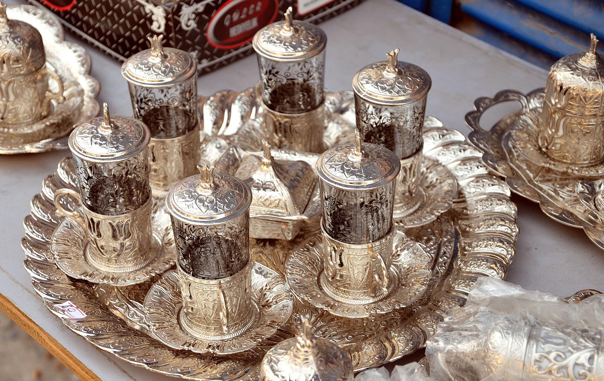 turkish souvenirs Сувениры из Стамбула: чайный набор