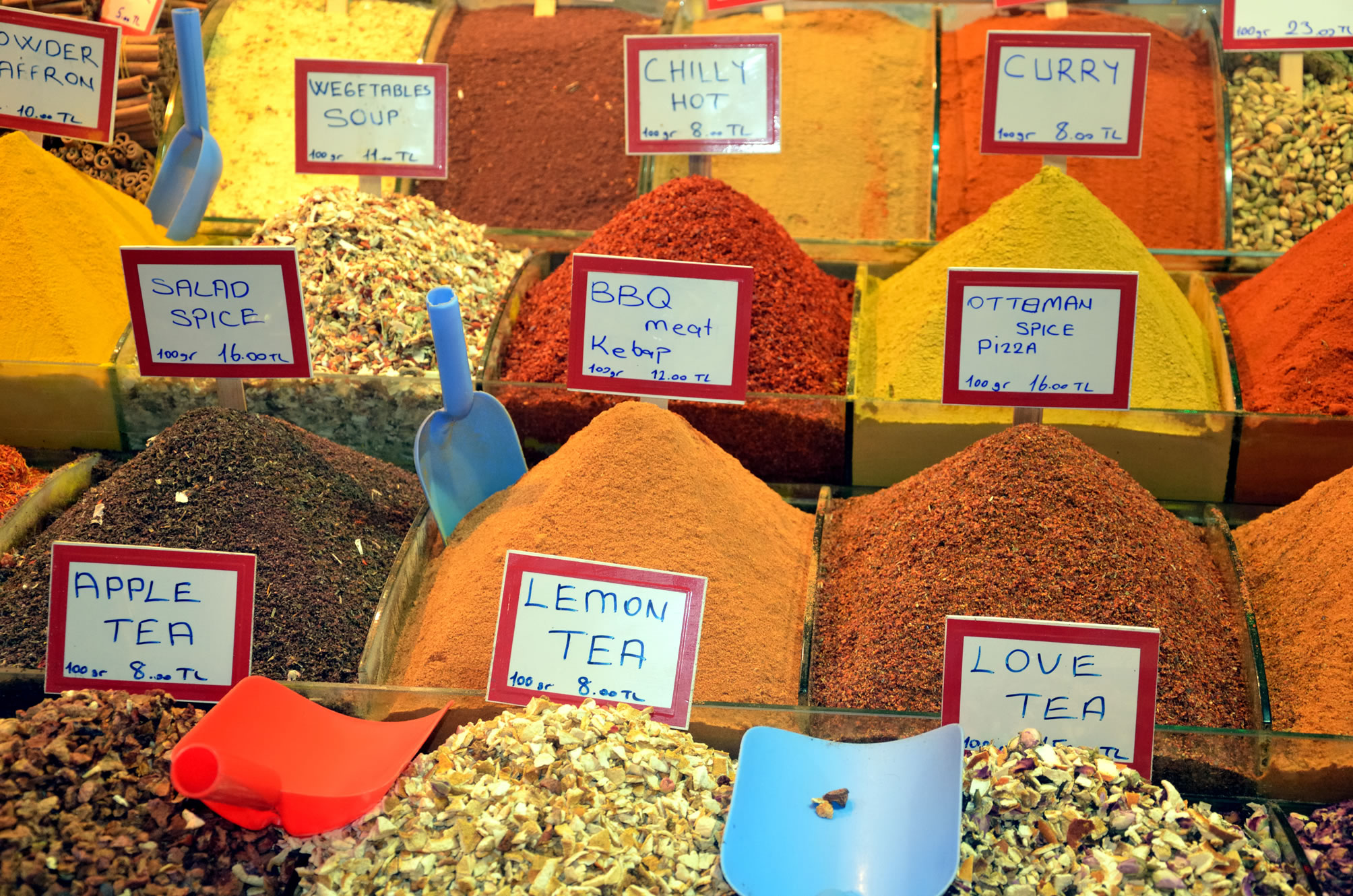 специи сувениры из Турции Стамбул Египетский рынок