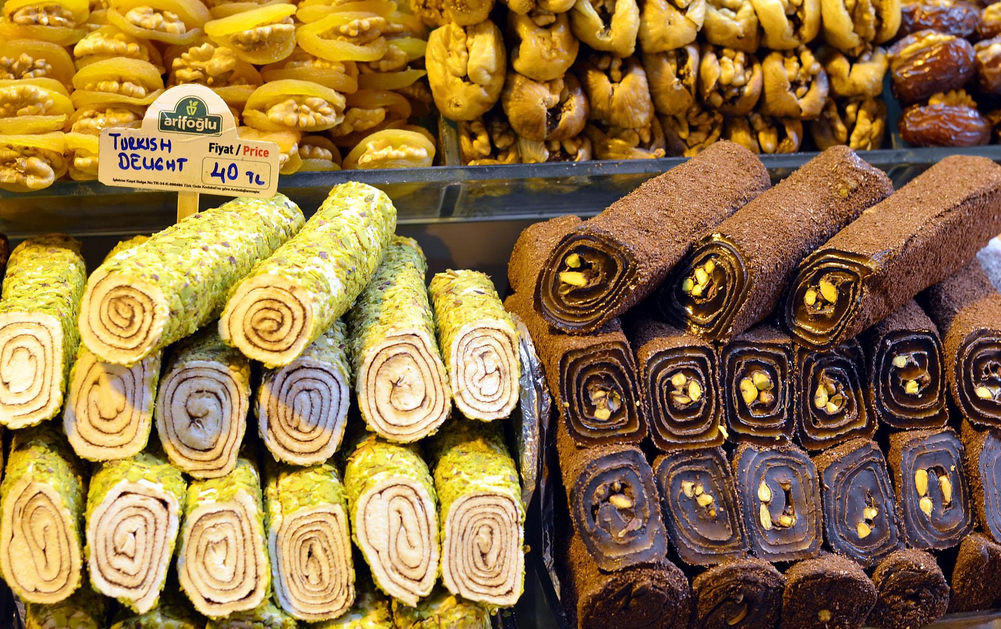 рахат-лукум турецкие сладости гастрономические сувениры Турция