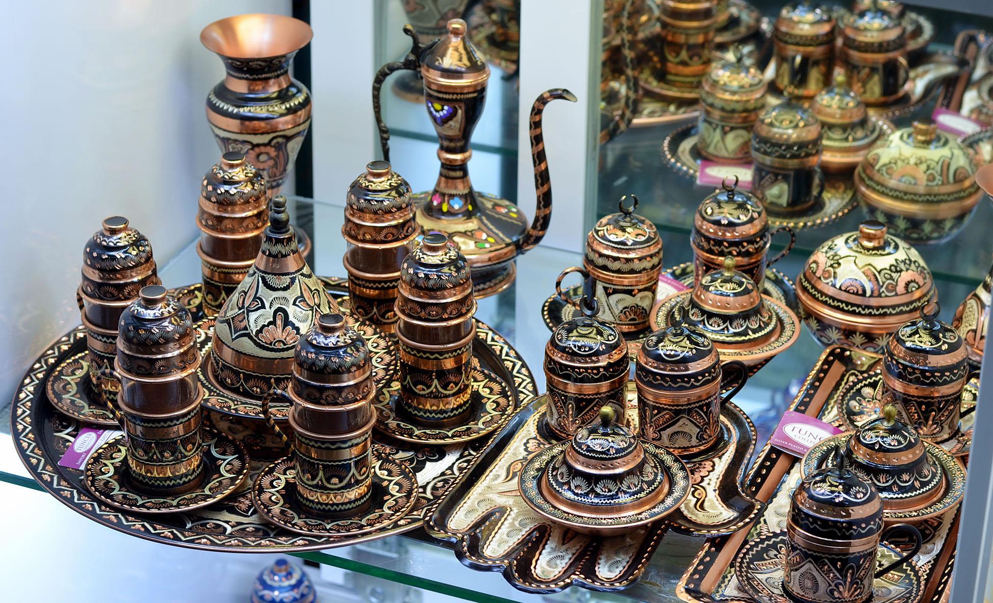 Турецкие сувениры: чайные наборы