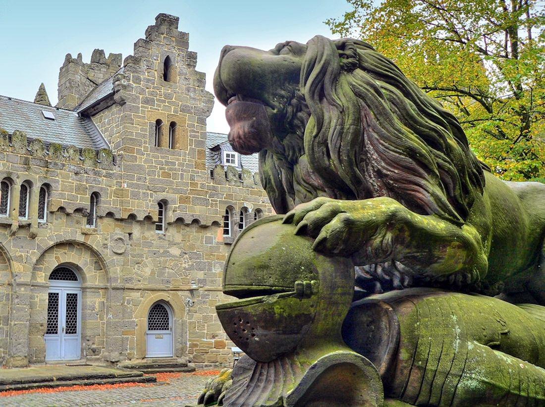 Löwenburg Замок Льва в Германии