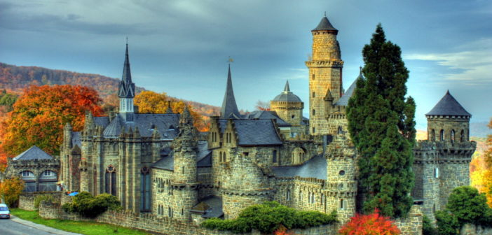 замок Левенбург Löwenburg castle