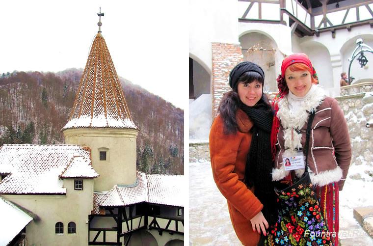 Экскурсия в замок Бран в Румынии