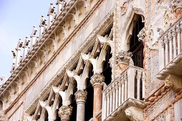 Золотой дом Венеции (Италия)