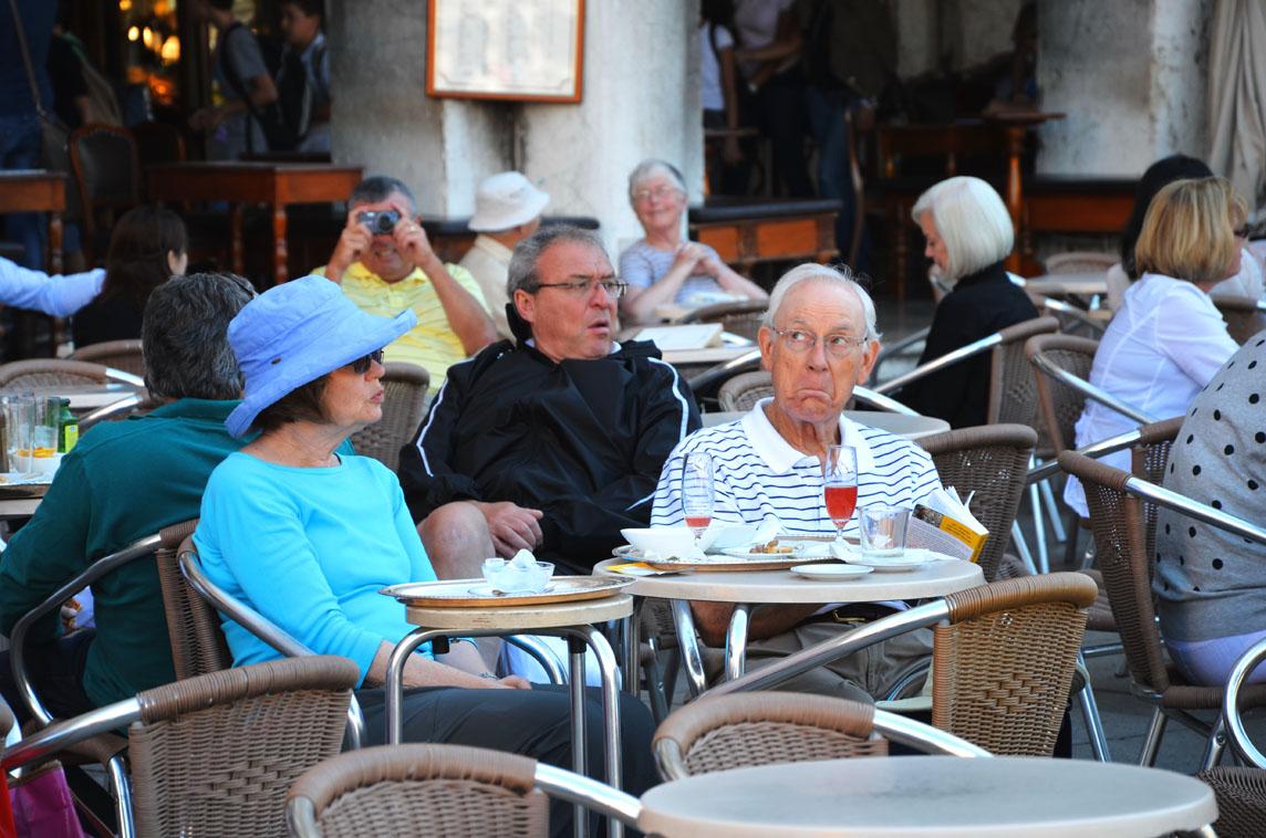 Venice cafe bar, San marco
