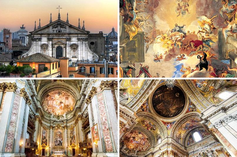 Базилика Сант-Иньяцио, Рим, Италия