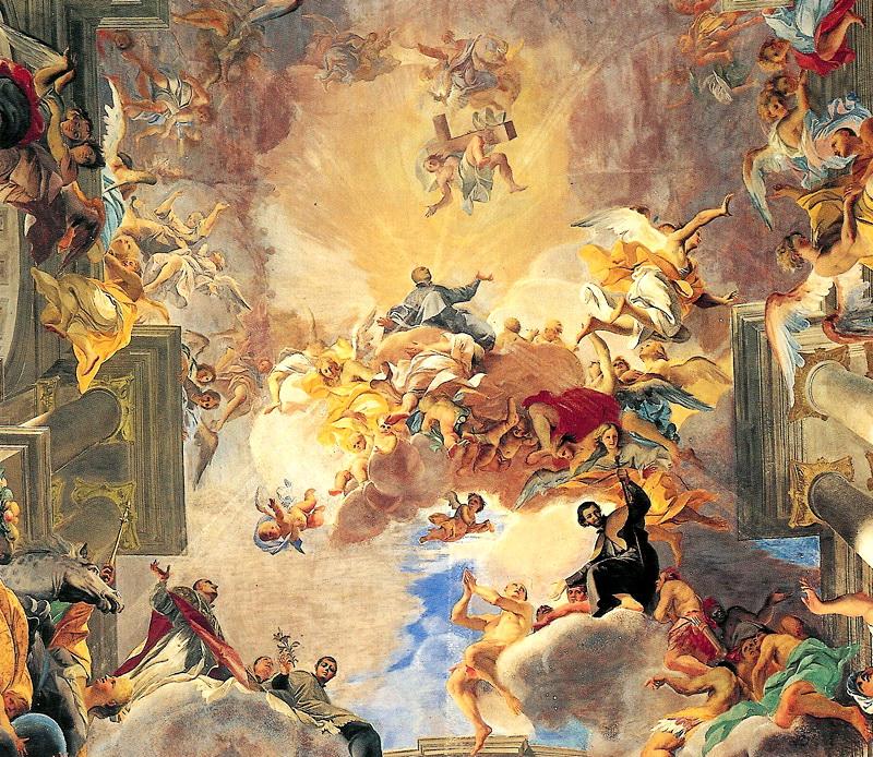 Рим, Италия, церковь Святого Игнатия