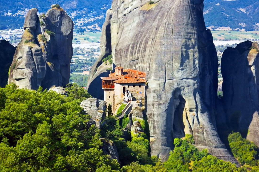 Экскурсия в Метеора: Монастырь Святой Троицы
