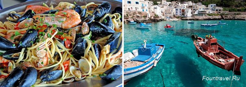 Рыбные блюда на Сицилии