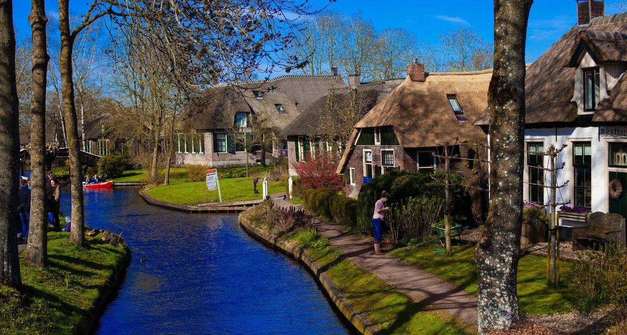 Голландская деревня Гитхорн, или что посмотреть в Нидерландах - отдых, отели, экскурсии