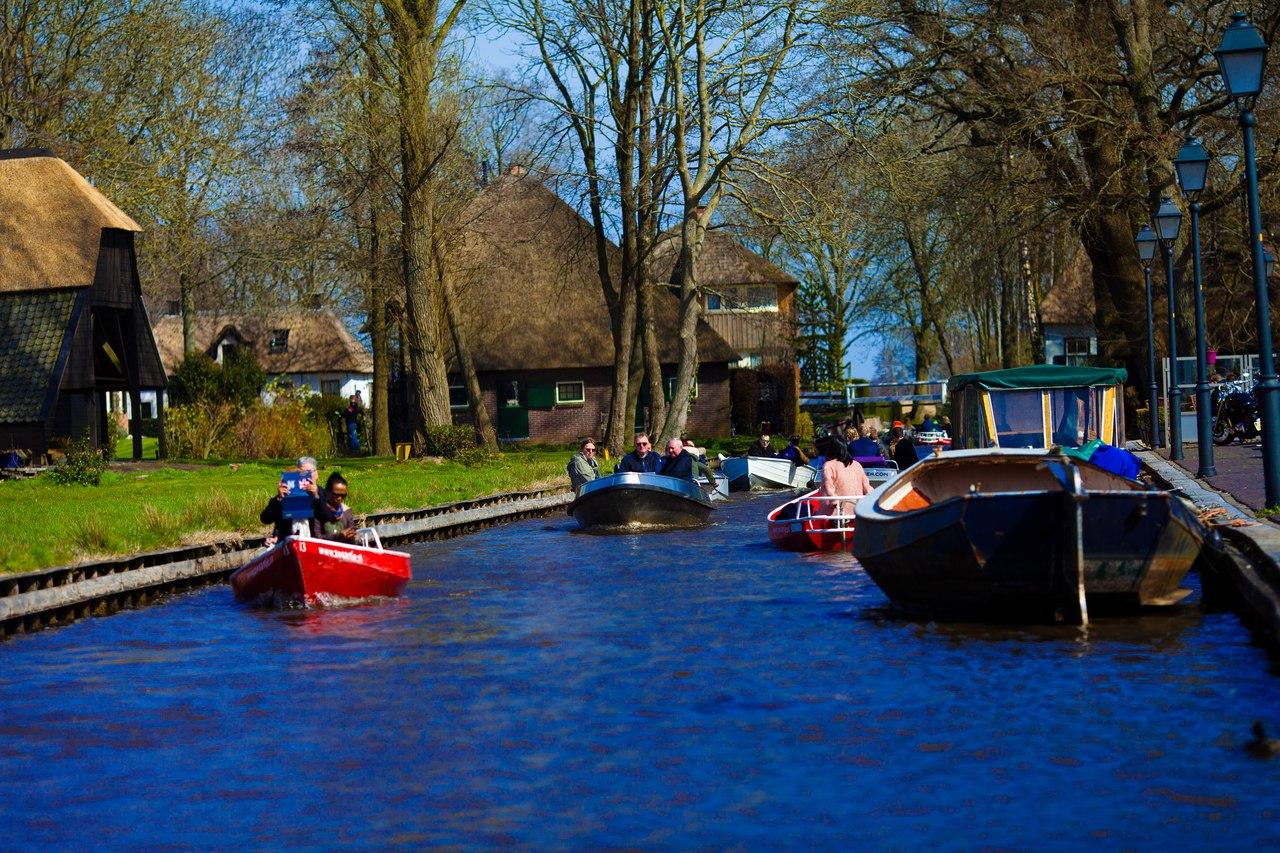 Речные прогулки, экскурсии в Гитхорне, Нидерланды