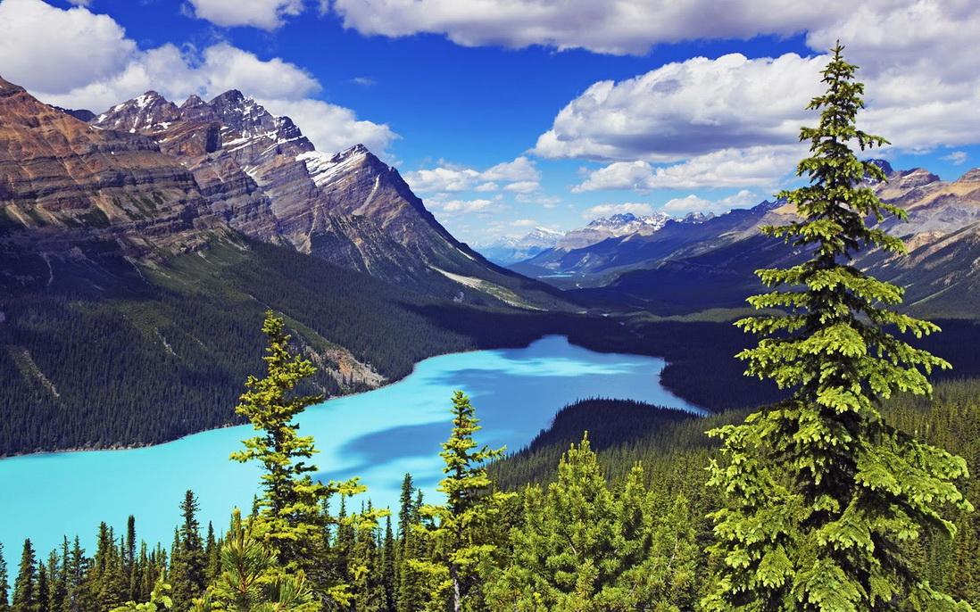 Банф - национальный парк Канады
