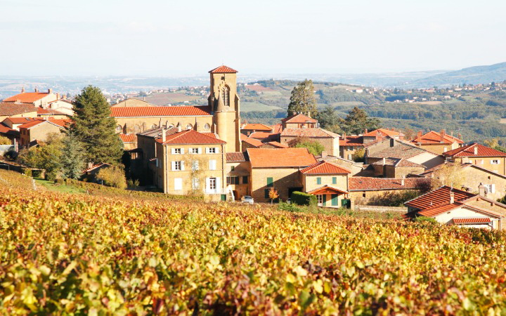 Экскурсия в регион Божоле во Франции - деревушка Тейзе