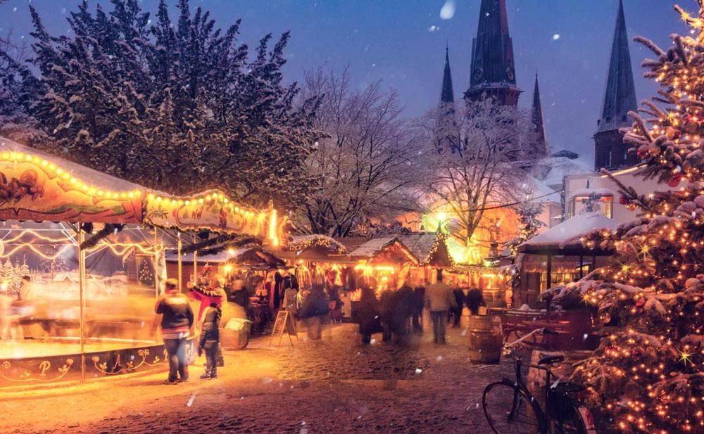 Кельн: рождественская ярмарка на Соборной площади
