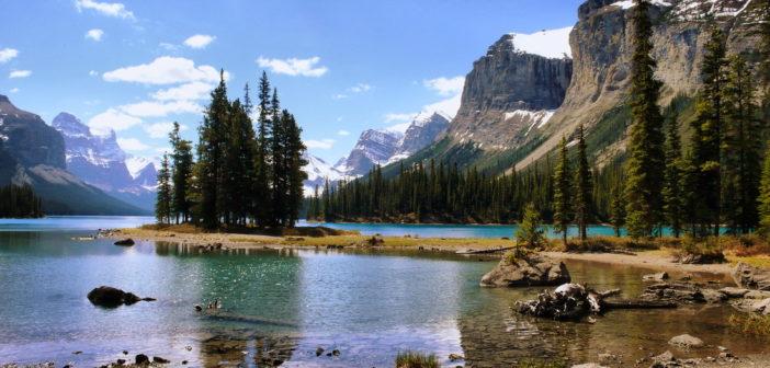 Национальный парк Джаспер, Канада: достопримечательности