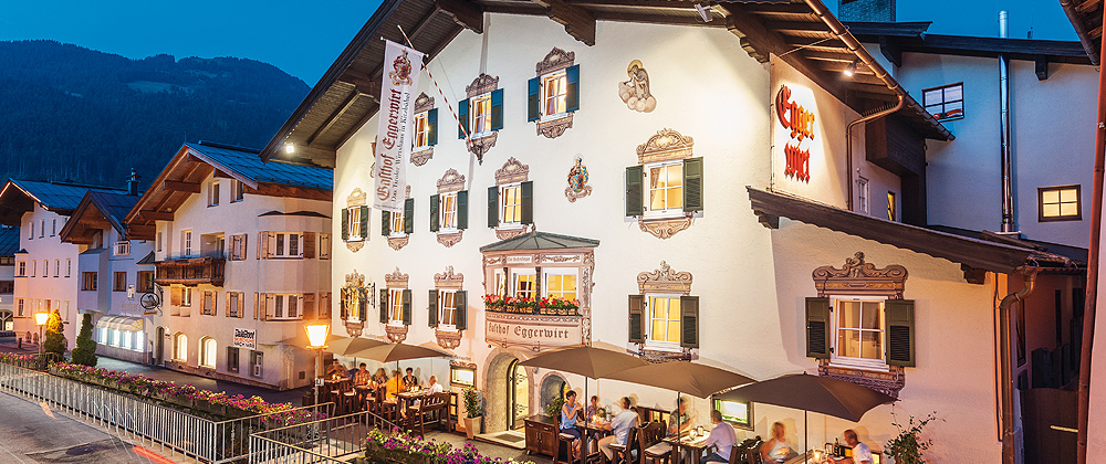 Где остановиться в Китцбюэле - Gasthof Eggerwirt