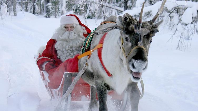 Зимний отдых в Лапландии, Финляндия