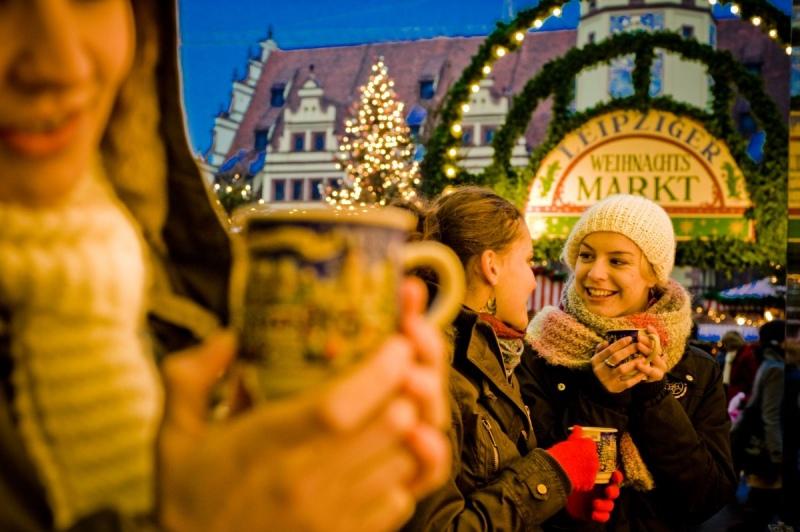 Экскурсия на рождественский базар в Лейпциге