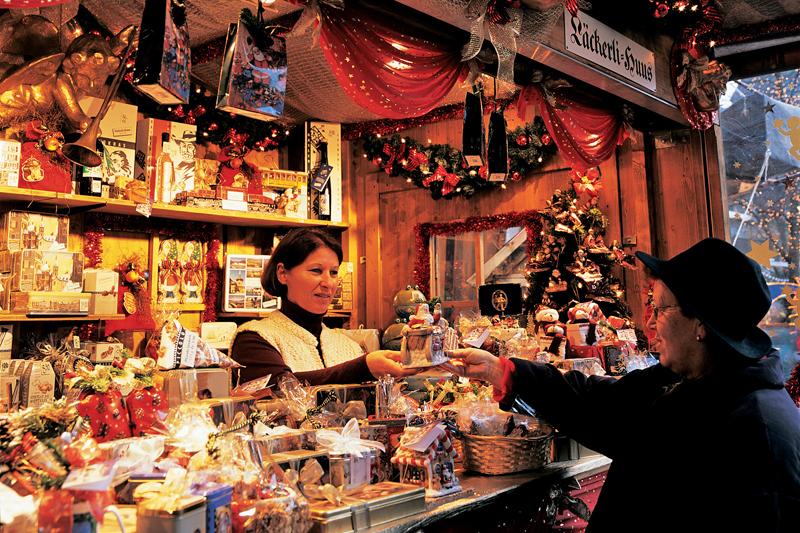 Рождественская ярмарка в Люцерне - что купить на ярмарке