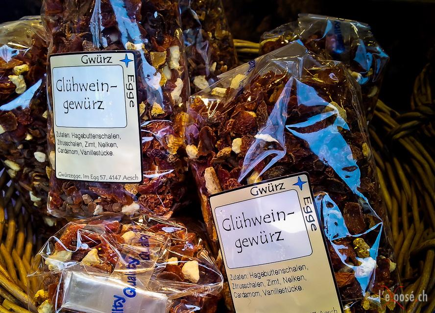 Сувениры из Швейцарии - смесь для глинтвейна