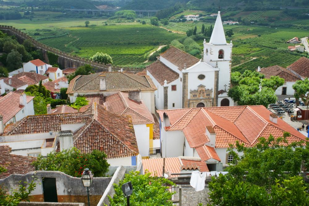 Что посмотреть в Португалии - город Обидуш