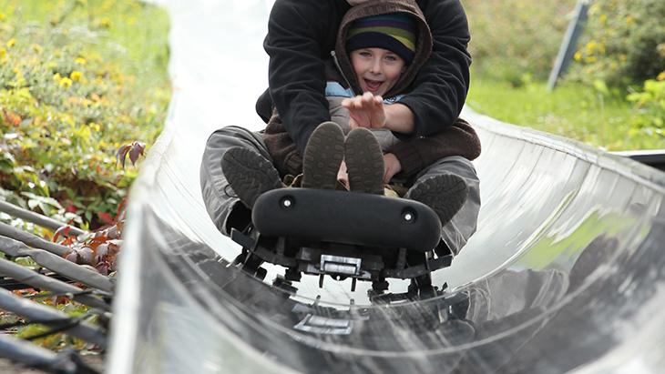 В Прагу с детьми: бобслейная дорога