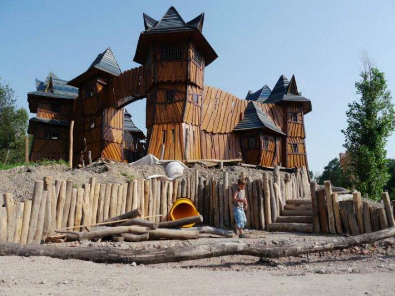 Прага с детьми - посещение деревни Botanicus