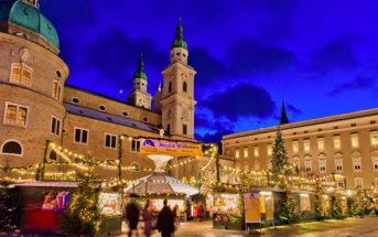 Рождественская ярмарка в Зальцбурге — даты и программа