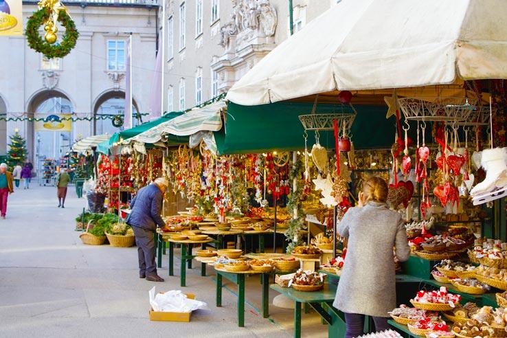Зальцбург - рождественский рынок, Австрия