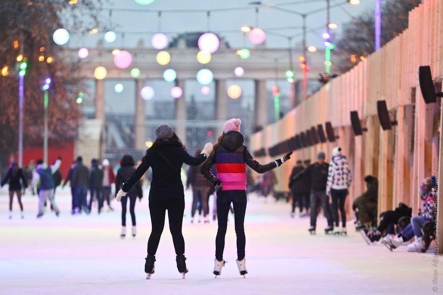 Чем заняться в Москве зимой - развлечения в парке Горького