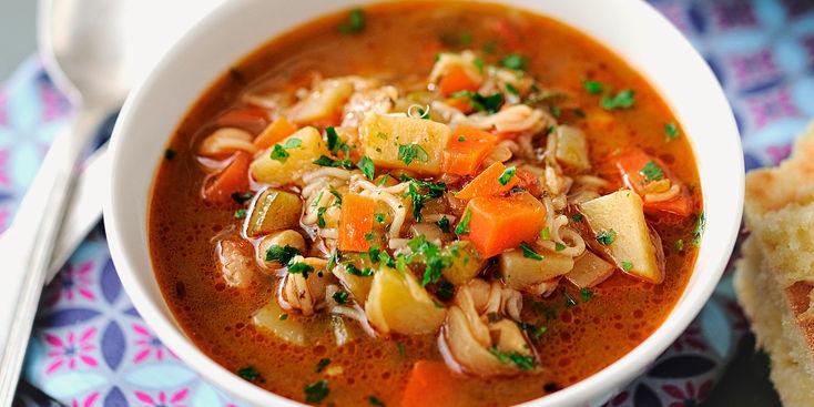Чорба - густой болгарский суп