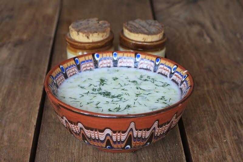 Какие блюда попробовать в Болгарии - таратор