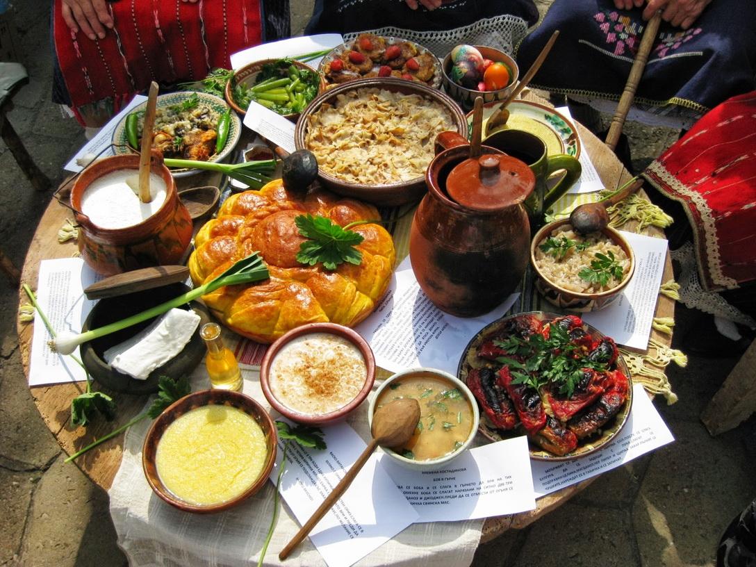Деревенская трапеза в Болгарии - что попробовать из еды