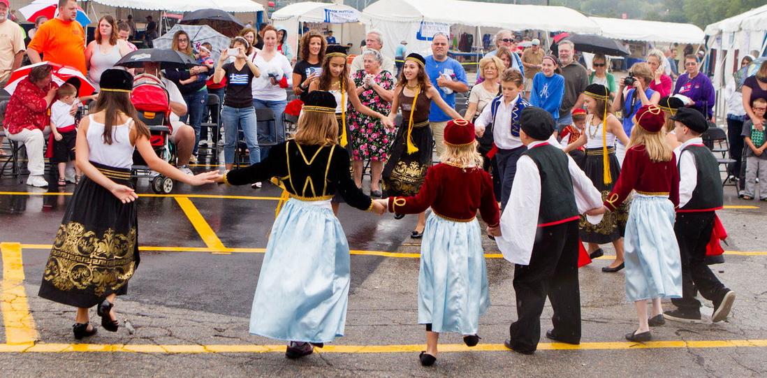 Летние фестивали и праздники Греции