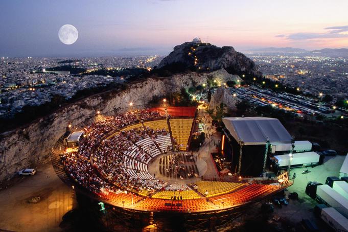 Праздники Греции - Театральный фестиваль в Афинах