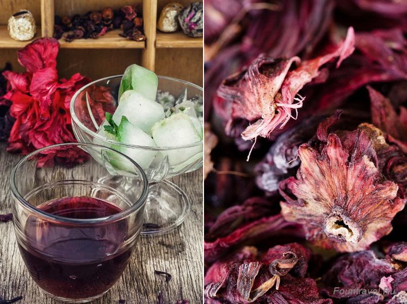 Чем полезен чай каркаде (Hibiscus tea)
