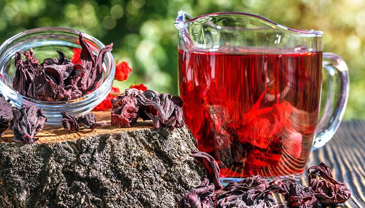 Чай каркаде - целебные свойства