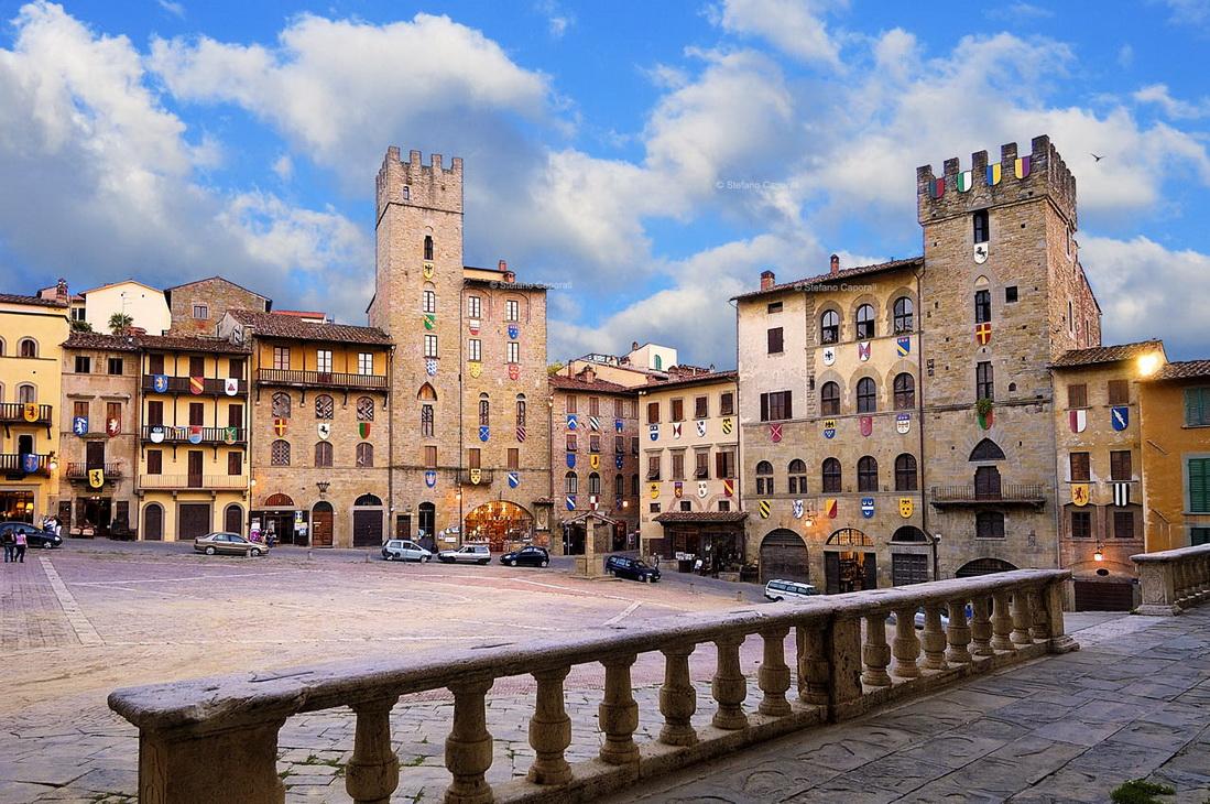 Какие города Тосканы стоит увидеть - Ареццо, Италия