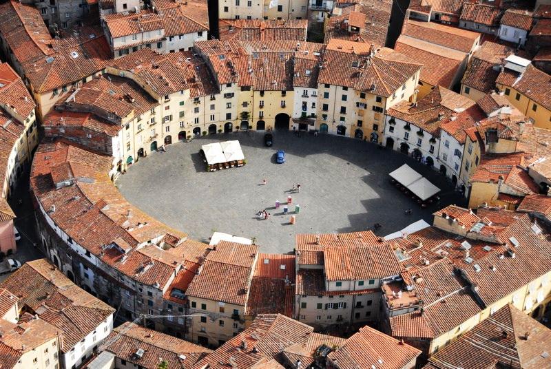 Лучшие города Тосканы - Лукка, Италия