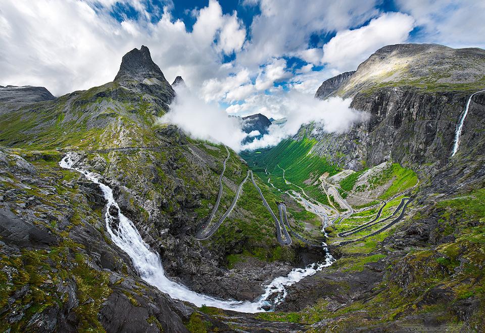 Достопримечательности Норвегии - Лестница троллей