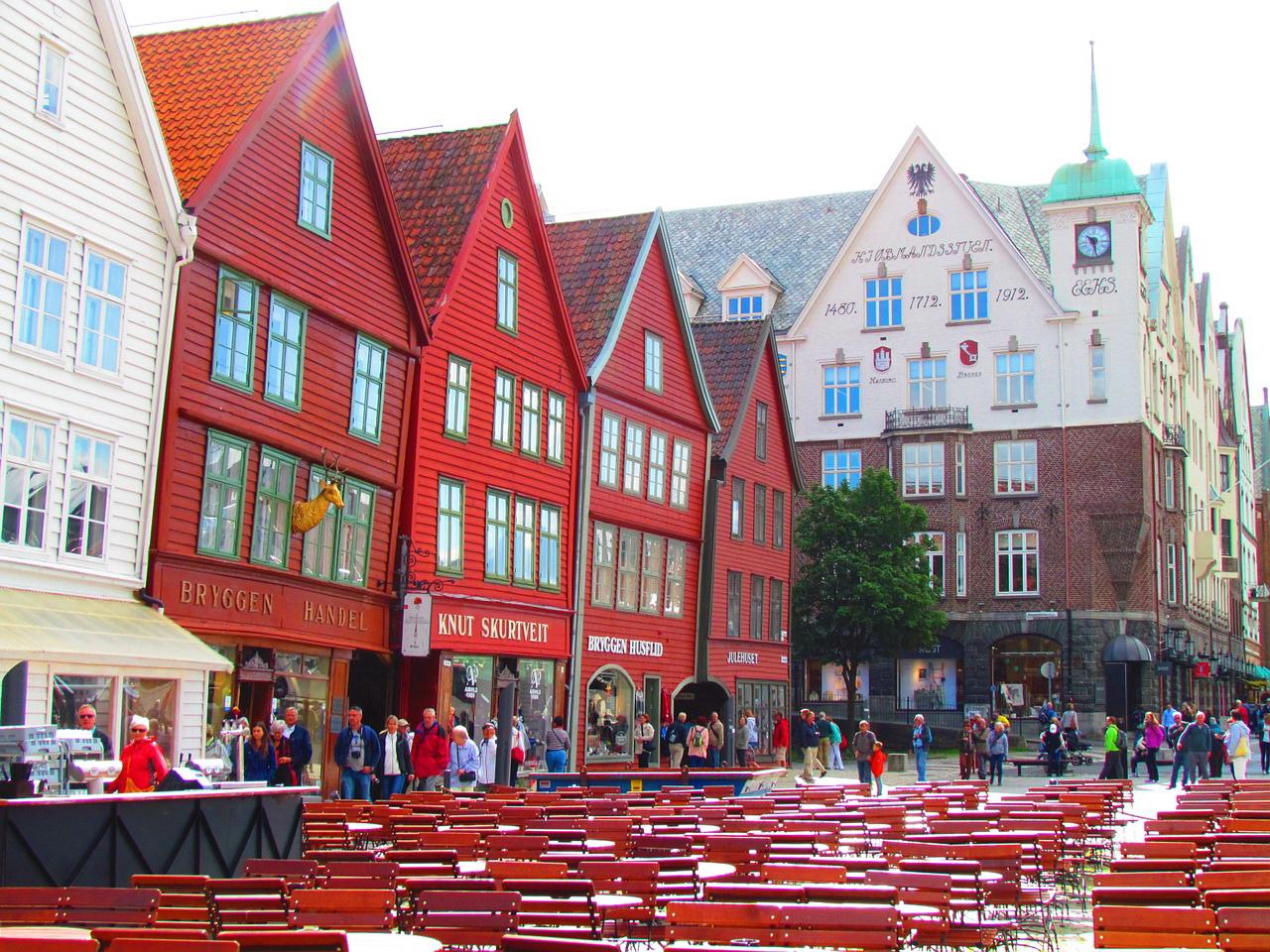 Набережная Брюгген (Берген, Норвегия)