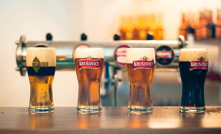 Пиво Крушовице - один из лучших сувениров из Карловых Вар