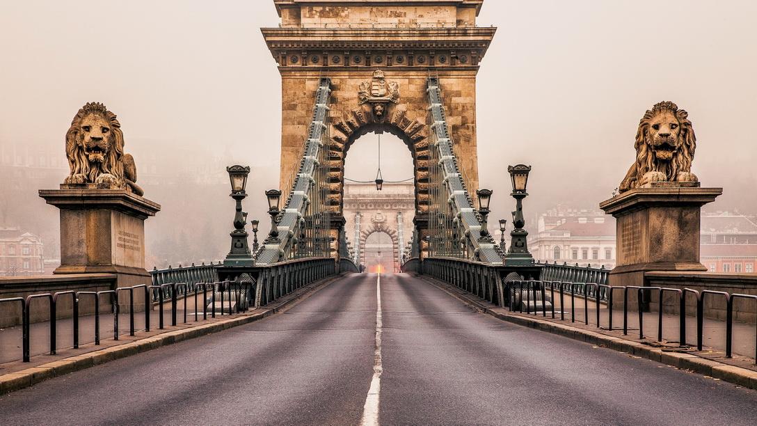 Поездка в Венгрию: мосты Будапешта осенью венгрия осенью 8 причин отдохнуть в Венгрии осенью Budapest Chain Bridge 1
