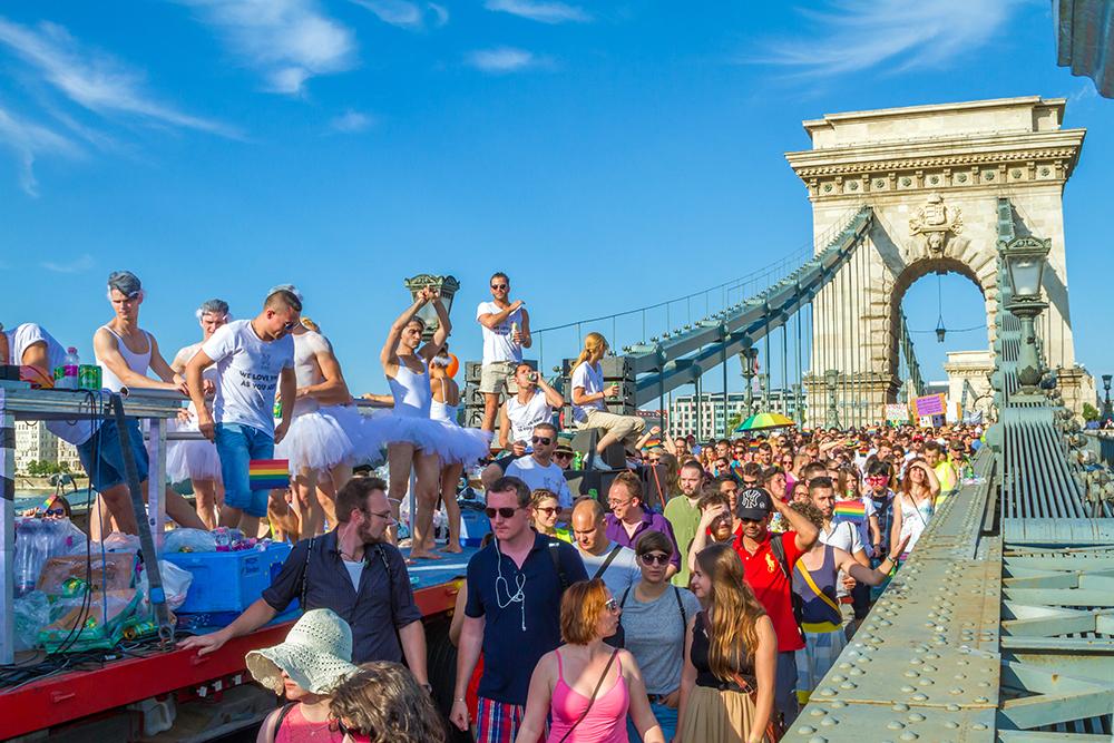 Цепной мост, Будапешт, Венгрия