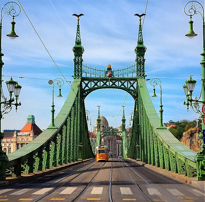Мосты Будапешта — #3 Мост Свободы