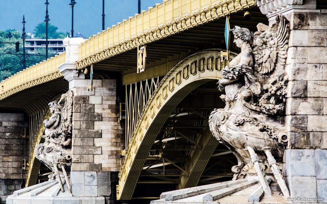 Мосты Будапешта — #4 Мост Маргит
